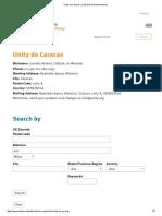 Unity de Caracas _ Unity World Wide Ministries