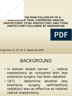 Radical Versus Total Mastectomy