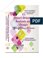 Object Oriented Analysis and Design for R-2013 by Krishna Sankar P., Shangaranarayanee N.P.