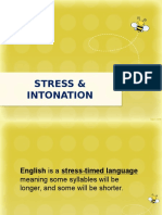 STRESS and INTONATION