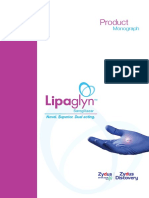 Lipaglyn Product Monograph