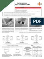 Omega Elastomeric Couplings_Installation Manual