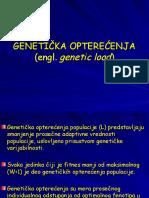 Genetic Load