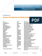 RefList Harbour Development and Design Studies 13