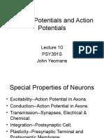 Potentials Lectures 10 12