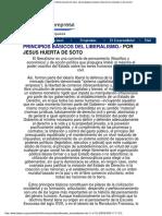 Jesús Huerta de Soto - Principios Básicos Del Liberalismo