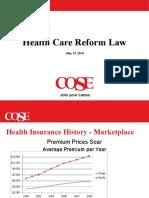 Healthcare Reform Task Team 5 14