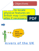 upland areas and rivers in the uk