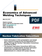 NESCC 13-032 - Presentation on Economics of Advanced Welding to the March 2013 NESCC Meeting (1).pptx