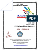 Kisi-kisi IT Networking Support 2016
