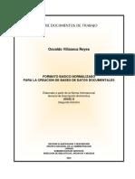Formato Básico Normalizado Para La Creación de Bases de Datos Documentales.