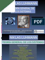 Niklasluhmann  teoria de sistemas