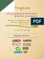 Program – Lumen Mepdev2015