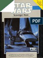WEG40020 - Star Wars D6 - Scavenger Hunt