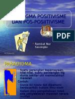 Ke-4 Paradigma Positivis