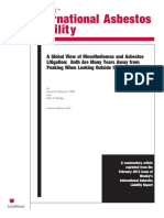 Jessica B. Horewitz and Kirk T. Hartley, A Global View of Mesotheliomas and Asbestos Litigation