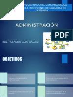 Administracion y Plan Estrategico