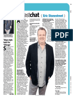 "Newsday ""Fast Chat"" - Eric Stonestreet"