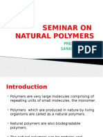 SEMINAR on Natural Polymers