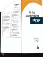 Writing Academic English (Fourth Edition)