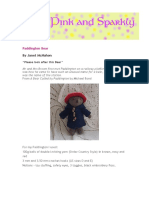 Paddington Bear Pattern