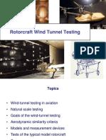 RA2013 - 02. Wind-tunnel Rotorcraft Testing