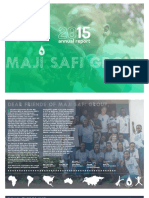 Maji Safi Group Annual Report 2015