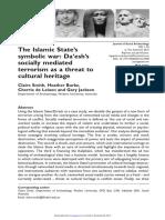 The Islamic States Symbolic War