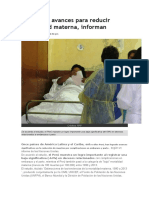Perú logra avances para reducir mortalidad materna.docx