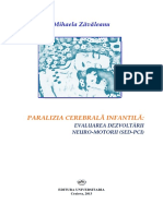 Paralizia Cerebrala Infantila_ Evaluarea Dezvoltarii Neuro-motorii (SED-PCI)