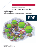 Polymeric and Self Assembled Hydrogels _From Fundamental Understanding to Applications