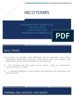 Inco Terms in Supply Chain Management