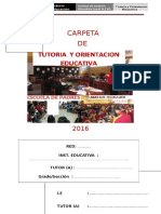 Carpeta Toe 2016