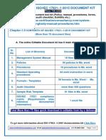 ISO 17021-1 2015gg Documentation Kit