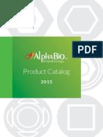 Alpha Bio Catalog de Produse 2015
