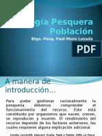 Biología Pesquera -UNIA- II Clase - Version