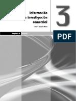 Informacion e Investigacion Comercial. Capitulo 3