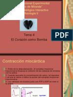 Tema 4 El Corazón Como Bomba