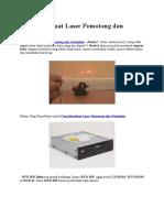 Cara Membuat Laser Pemotong Dan Pembakar