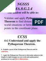 PythagoreanThm 8th Grade 2