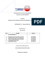 Lab Report Ring and Ball, Skid Test