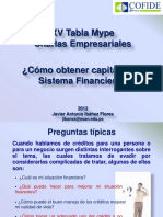 Como Obtener Capital en El Sistema Financiero