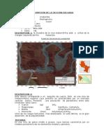 Descripcion de La Seccion Delgada de Aobamba