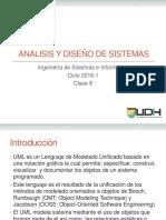 Analisis y Diseño - Clase8