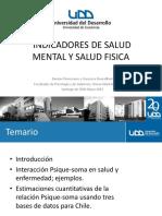 Indicadores de Salud Mental