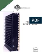 Microserver Owners Manual