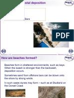 depositional landforms - boardworks