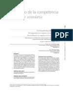Desarrollo de La Competencia Lectora en Secundaria. Luis Felipe Gómez López, Juan Carlos Silas Casillas