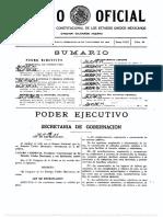 Ley de Expropiación 25 de Noviembre 1936