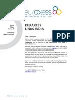 Euraxess Links India 2016 May Fo Final(1)